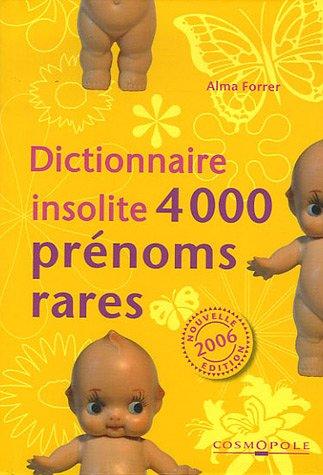 4000 Prénoms rares