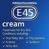 E45 Dermatological Moisturising Cream Tub, 350 g Bild 2