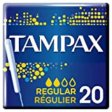 Tampax Regular Tampons with Plastic Applicator x 20���Regular