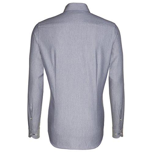 Seidensticker -  Camicia classiche  - Classico  - Maniche lunghe - Uomo blau (0018)