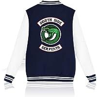 EnjoyYourLife Riverdale Southside Serpents Felpa con Cappuccio Hoodie Hooded Pullover Sweater Sweatshirt Maglione…