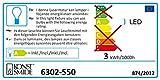 Konstsmide 6302-550 LED Minilichterkette / für Innen (IP20)  230V Innen / 35 rote Dioden / grünes Kabel