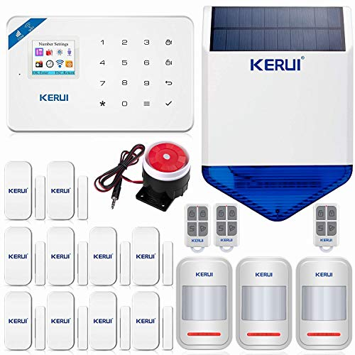 KERUI W18 Wireless WIFI+GSM Burg...