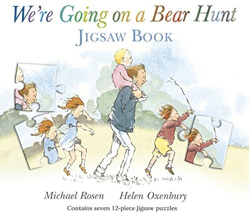 We're Going on a Bear Hunt (Jigsaw Books) by Michael Rosen (2013-09-05)