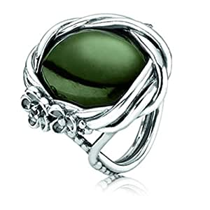 pandora 190847nja57 sterling silver 926 ring size q 1 2