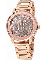 Michael Kors MK6210 - Reloj con correa de acero para mujer, color dorado / gris