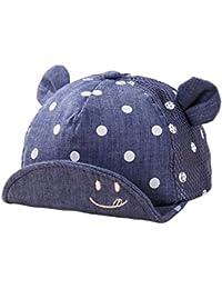 FemmeStopper Cute Cat Cotton Cap Baby Girl Baby Boy Cap Adjustable Snapback  Little Ear Baby Cap 48e205f891