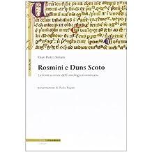 Rosmini e Duns Scoto. Le fonti scotiste dell'ontologia rosminiana