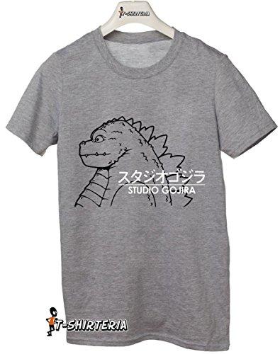 t-shirt MashUp Studio Ghibli Gojira, Godzilla in giapponese tutte le taglie uomo donna bambino maglietta by tshirteria
