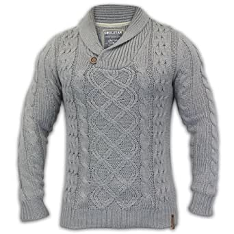 pullover irlandais pour homme fermeture zip 100 laine merinos 22b2aab241ce