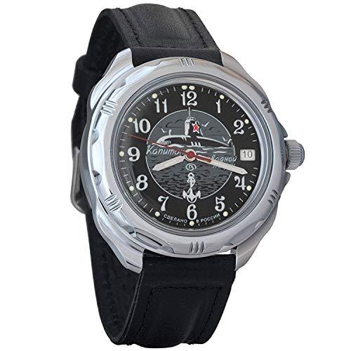Vostok Komandirskie 2414/211831 - Reloj de Pulsera para Hombre, diseño Militar Ruso