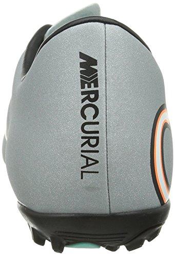 Nike - Mercurial Victory V Tf Cr, Scarpe Da Calcio da uomo Grau (Mtllc Silver/Blk-Hypr Trq-Blk)