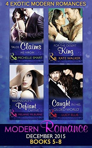 book cover of Modern Romance December 2015 Books 5-8