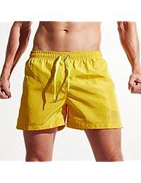 Zolimx Bañador Hombre Chico Playa Poliéster Pantalon Corto Hombre Deporte Secado Rápido Bañadores Natacion Ligero Moda