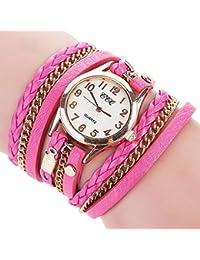 ZARLLE Reloje Hombres Mujeres Relojes Deportivos Baratos Reloj, Marca De Lujo Pulsera De Cuero Reloj De Pulsera Reloj De Cuarzo De Las Mujeres De Los Hombres