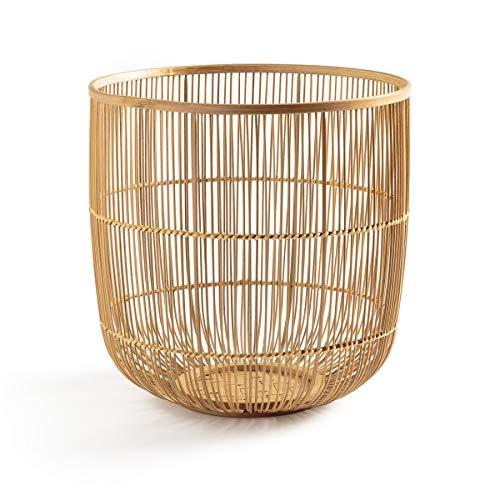 La redoute am.pm cestino bambu intrecciato a25 cm milise taglia tu beige
