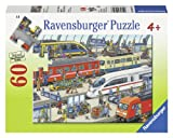 Ravensburger Puzzles Railway Station, Multi Color (60 Pieces)
