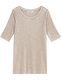 Promod Lamé-T-Shirt