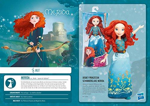 Disney Princess - Muñeca Merida (Hasbro B5825ES2) , Modelos/Colores Surtidos, 1 Unidad