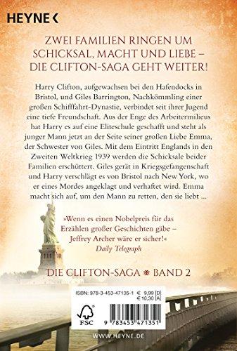 Das Vermächtnis des Vaters: Die Clifton Saga 2 - Roman