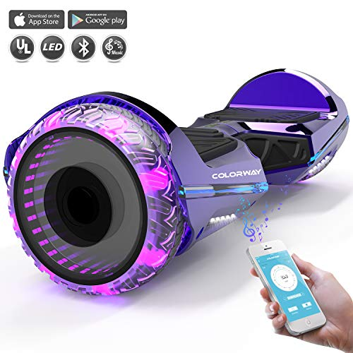 COLORWAY Hoverboard SUV 6.5 Pouces,Gyropode...