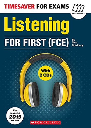 Timesaver 'Listening', For First (FCE), mit 2 Audio-CDs: Photocopiable, CEFR: B2 (Helbling...