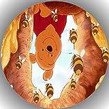 Premium Esspapier Tortenaufleger Tortenbild Geburtstag Winnie Pooh N12