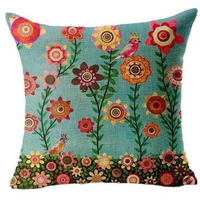 Office-sofa (UYSDF Home Office Sofa Hug Pillowcase Cushion Butterfly Shell Girl, Linen 45x45 cm,45 * 45 cm Kissenbezug)