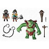 Playmobil Knights Giant Troll with Dwarf Fighters 2pieza(s) figura de construcción - figuras de construcción (Multicolor, Playmobil, 4 año(s), 10 año(s), Niño, 2 pieza(s))