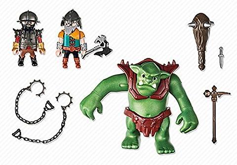 Playmobil Knights Giant soldats nains avec troll 2pièce (s) Figurine de construction–Figures de construction (Multicolore, Playmobil, 4Année (s), 10année (s), enfant, 2pièce