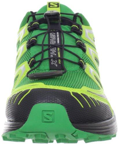 Salomon XT HORNET COVER Scarpe da Corsa Running Trail Verde Giallo Nero per Uomo GREEN/POPGREEN
