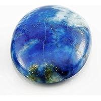 Aatm Reiki Energía Lapis Lázuli Bolsillo Piedra Cabochon Stone (Piedra De ilustración y equilibrio)