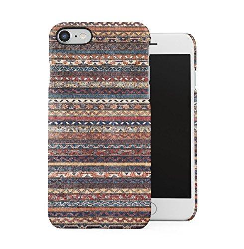 Braun Native Indie Aztec Tribal Mosaic Pattern Dünne Handy Schutzhülle Hardcase Aus Hartplastik Hülle für iPhone 7 / iPhone 8 Handyhülle Case Cover