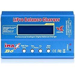 TOOGOO Imax B6 12V Cargador De Batería 80W Lipro Cargador De Equilibrio Nimh Li-Ion Ni-CD Cargador RC Digital 12V 6A Cargador Adaptador De Potencia (Sin Enchufe)