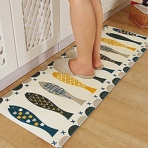 San Bodhi® Imprimé moderne Poisson Rugs Chambre à coucher de