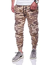 MT Styles Chino-Jogger Cargo Hose Jeans RJ-911