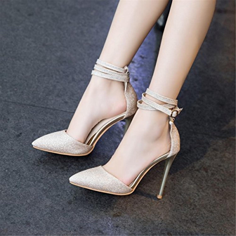 Donna Estate Casuale Sandali Moda   Sandali donna L'Europa, gli Stati Uniti ad alta scarpe tacco cinghia scanalata... | Bella E Affascinante  | Uomini/Donna Scarpa