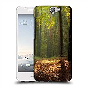Snoogg Red Tree On Ground Designer Protective Phone Back Case Cover For Asus Zenfone 6