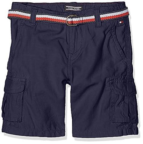 Tommy Hilfiger Jungen Badeshorts Ame Cargo Short Whs GD, Blau (Navy Blazer 431), 176 (Herstellergröße: 16)
