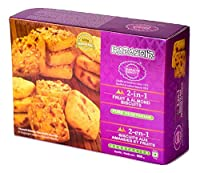Karachi Bakery Double Delight, 2 in 1, Fruit and Almond Biscuits, 400g