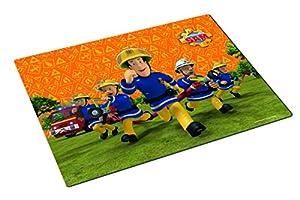 Original-Oficial de bombero Sam Personajes-con el famoso personaje de Sam y sus amigos Cool-siempre un lugar todas las miradas con este divertido juego de tamaño-42x 29cm decorativa-debe faltar en la mesa.