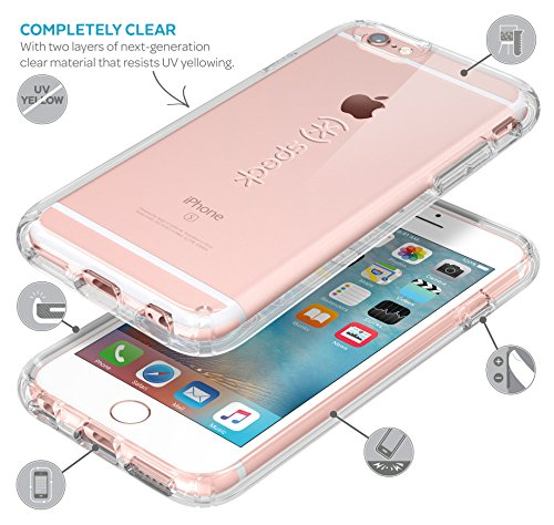 Speck Hard Case Candy Shell für Apple iPhone 6/6S 11,3 cm (4,7 Zoll) clear Onyx Clear