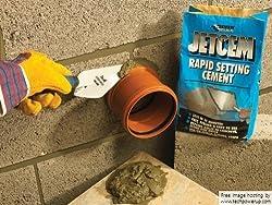 3x Everbuild JETCEM6 Jetcem Rapid Set Cement 6Kg (Single)