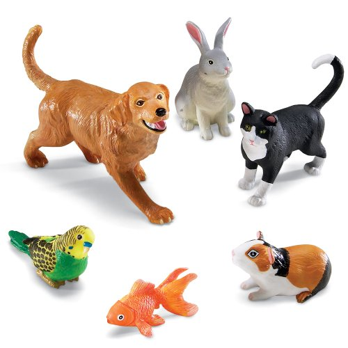 Preisvergleich Produktbild Learning Resources Große Haustiere,