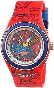 Zoop Spiderman Analog Black Dial Unisex Watch - NKC4048PP15