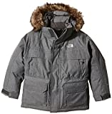 North Face Mcmurdo Parka Garçon, Charcoal Grey Heather, FR : M (Taille Fabricant : M)