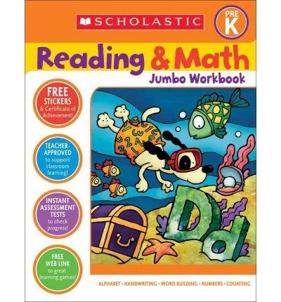 Reading & Math Jumbo Workbook: Grade Prek (Paperback) - Common