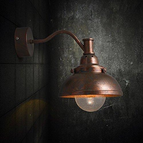 GaoHX Light Amerikanische Ländliche Luftkorridore Der Halle Schlafzimmer Vintage Holz Wandleuchte Nordic Ikea Idyllischen Zucker Eiche Wandleuchte