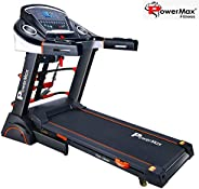 Powermax Fitness TDA-230M 2 HP (4 HP Peak) Motorized Treadmill for Home Use - Free Installation Service - 3 Ye