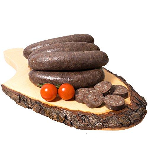 Waldfurter Schlesische Traditionsprodukte: Graupenwurst Schlesische Grützwurst 0,8 Kg Krupniok Blutwurst | Schlesische Lebensmittel | Kühlversand